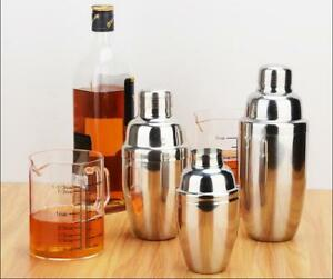 250ml 750ml Cocktail Set Wine Shaker Bar Kit Accessories Mixers Silver Color Uk Ebay