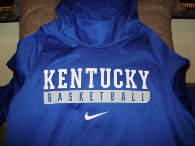 Nike therma fit college elite hoodie kentucky wildcats basketball sz