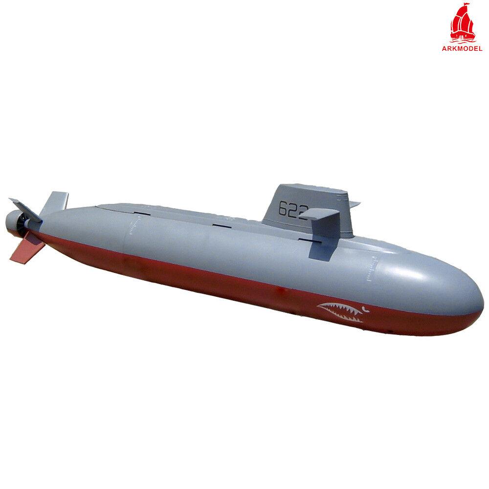 ARKMODEL 1 72 Dragon Shark I Submarine KIT Nuclear Plastic Models RC Boat Ship