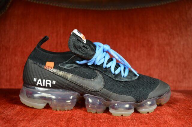 CLEAN Nike Air Vapormax FK Black OFF WHITE AA3831 002 Size 8 OG Virgil Abloh