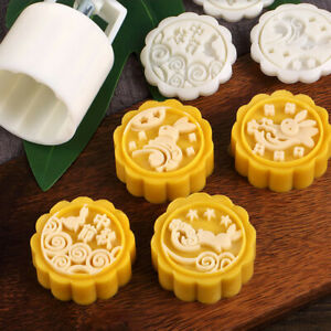 Mooncake-Mold-Flower-Mid-autumn-Festival-Hand-Press-Moon-Cake-Cutter-Molds-Set