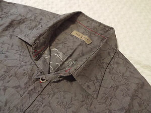 Ted-Baker-Camisa-Para-Hombres-Talla-2-38-034-pecho-RRP-110-fantasticamente-Floral