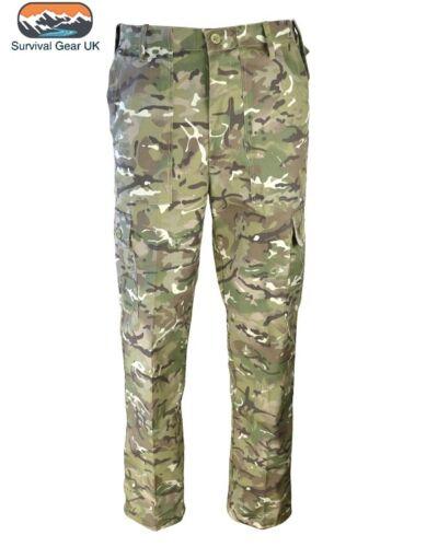 Qualità Da Uomo Esercito Militare Pantalone Combat Pantaloni Camo Airsoft Lavoro Cargo BTP