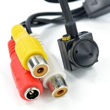 Mini Micro Telecamera Camera Cam Spia CCTV 600TVL Audio Con Microfono hsb