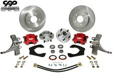 Mustang Ii Ifs Complete Modular 2 Drop Spindle Disc Brake Kit 5 X 475 Gm Lug Fits 1939 Ford