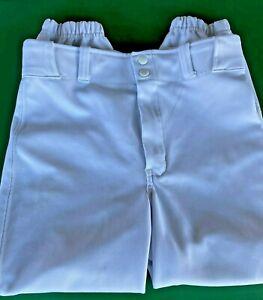 Boys-Champro-Sports-Youth-Baseball-Pants-White-Short-Style-Size-Y-Large