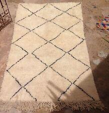 Moroccan Beni Ouarain Woollen Rug 230 X 140cm