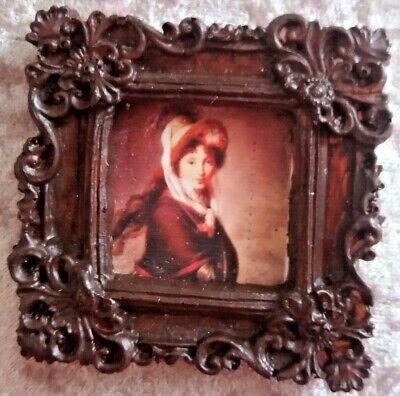 Apprensivo Casa Delle Bambole Un'immagine Ornata Di Una Signora-mostra Il Titolo Originale