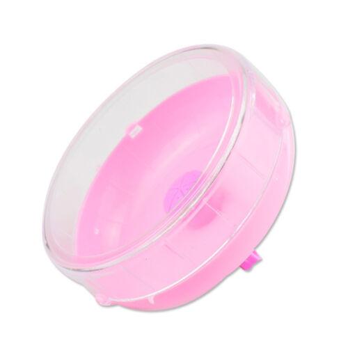 Hamster Mouse Exercise Plastic Silent Running Spinner Wheel Pet Training Quality