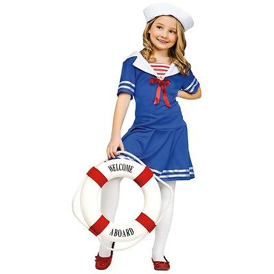 Sea Sweetie Navy Sailor Costume Halloween Fancy Dress