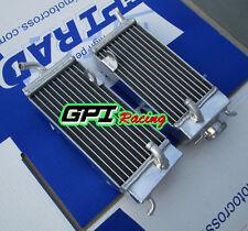 Aluminum radiator FOR YAMAHA YZ125 YZ 125 1989-1992 1990 1991 89 90 91 92