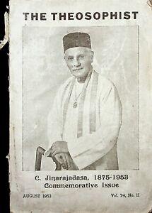 Theosophist-Jinarajadasa-1953-Commemorative-issue-Religion-rare-74-II-Sri-Lanka