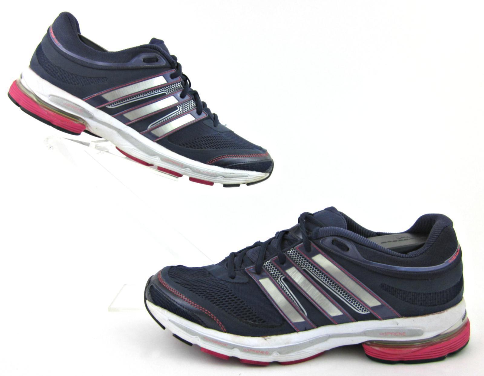 Adidas Adistar Ride 4 Womens Running Shoes Navy Silver US 12 Fantastic!