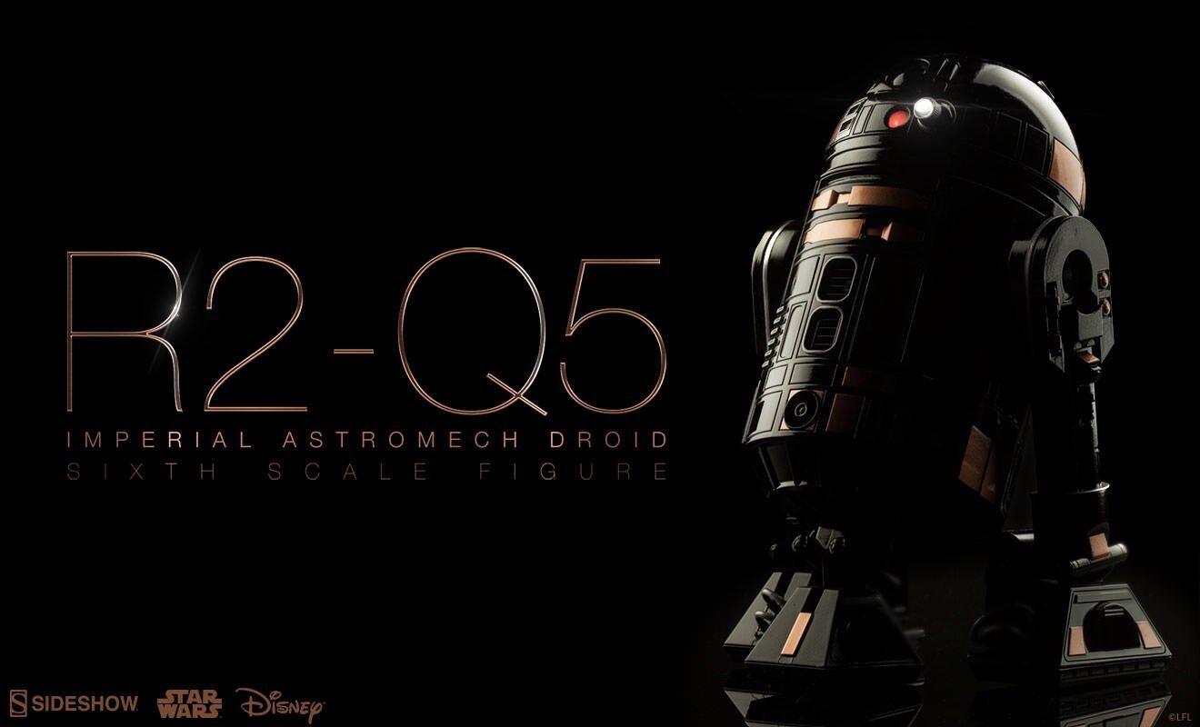 1 6 Sideshow R2-Q5 Imperial Astromech Droid - Star Wars R2Q5