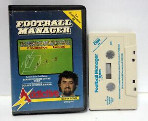 FOOTBALL-MANAGER-ADDICTIVE-KEVIN-TOMS-COMMODORE-64-CBM-w-o-MANUAL-UK-FR1-65533
