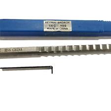 14 C Push Type Keyway Broach Inch Size Hss Broach Cutting Cutter Cnc Machine