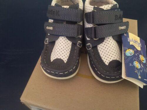 Bartek Kids Boots Baby Toddler Size Euro 22 US 6 Brand New Navy White NWT