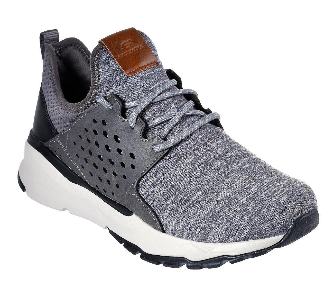 Skechers Homme relven-Velton chaussures en gris