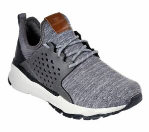 Details about SKECHERS Men's Relven Velton Shoes in Grey