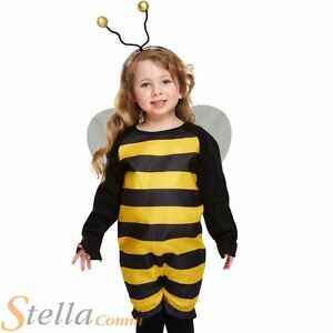 Toddler Bumblebee Bee Costume Boys Girls Fancy Dress Outfit Age 2 3