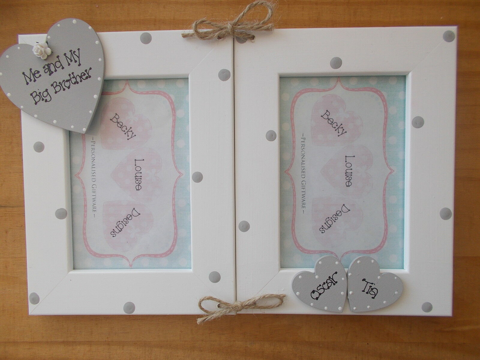Personalised Me and My Big Brother 6x4 Photo Frame | eBay