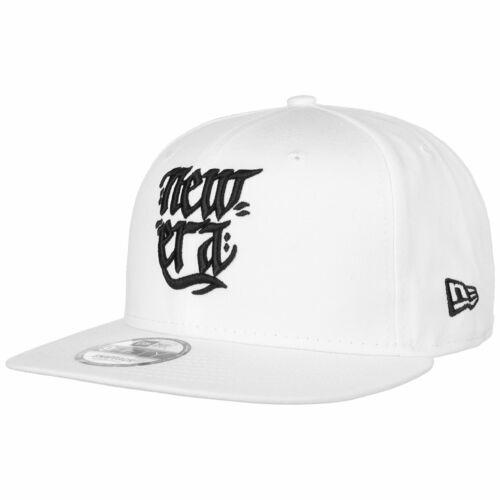 NEW ERA 9Fifty Script Cap Basecap Baseballcap Snapback Flat Brim Caps