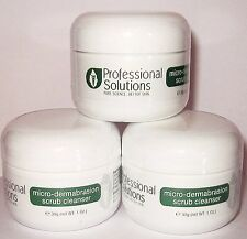 3x 29,6 ml MICRODERMABRASIONE CRISTALLI INCLINE ALL'ACNE,DRY,SMAGLIATURE &