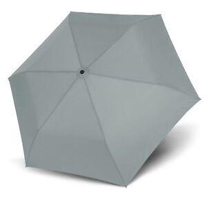 Reiseaccessoires Sinnvoll Doppler Zero,99 Regenschirm Accessoire Uni Cool Grey Grau Neu