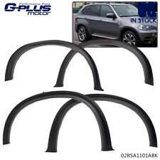 "07-13 BMW X5 E70 Arch Offroad Black Side Fender Flares 20/"" 21/"" Cover Protect"
