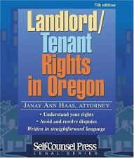 Landlord/Tenant Rights in Oregon Legal Series