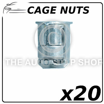 Fasteners Cage Nuts Peugeot Boxer-RCZ//Citroen AX-C5  Pack of 20  Part No 252