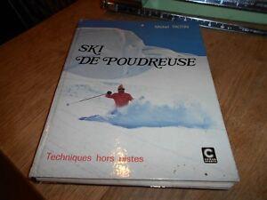 Rare M. Trotin Ski De Poudreuse A 20€ Ach Imm Fp Comp Mond A Voir Hors Pistes