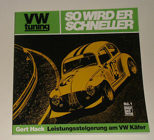 Tuning Anleitung Vw Käfer 1200 1300 1500 1600 Oettinger So Wird Er Schneller Ebay