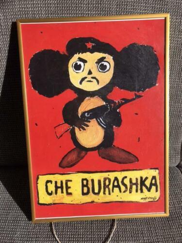 Cheburashka Revolutionary Cosplay Poster