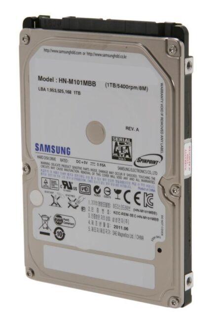"(NEW) SAMSUNG 1TB 2.5"" 5400RPM SATA LAPTOP NOTEBOOK PC HARD DRIVE ST1000LM024"