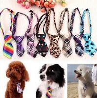 FD1008 Pet Dog Puppy Cat Baby Kid Bow Tie Necktie Handsome Adjustable Cloth 1pc/