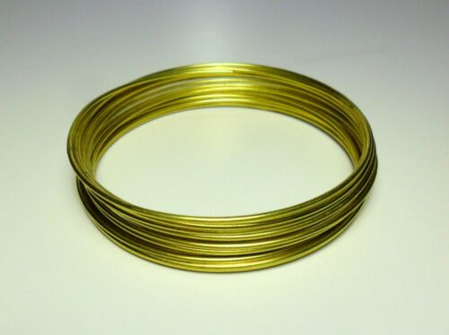 Ottone 1 3 mm DIY Soft Copper Brass wire jewels Filo matassa Rame 2 1,5