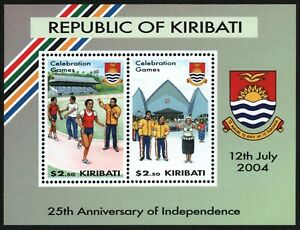 Kiribati-2004-Mi-Nr-Block-54-MNH-25-Jahre-Unabhangigkeit