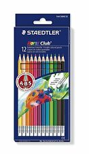 Staedtler Noris Club 144 50NC12 borrable Colorante Lápices-Surtido de colores..