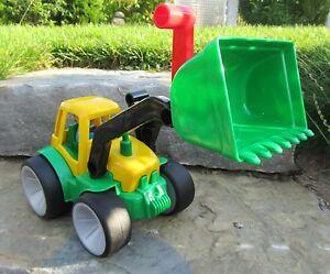 Gowi-Traktor-mit-Schaufel-Sandkasten-34cm-034-Kindergarten-Qualitaet-034-561-41