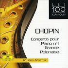 Chopin: Concerto pour Piano No. 1; Grand Polonaise (CD, Sep-2002, DG Deutsche Grammophon)