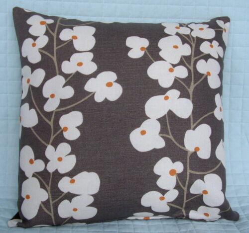 "John Lewis Cushion Cover 16/"" x 16/""  WALLFLOWER Fabric"