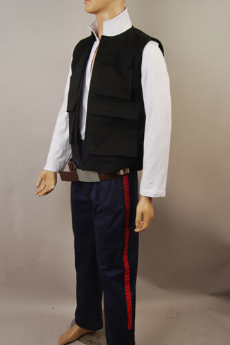 Star Wars IV ANH A New Hope Han Solo Cosplay Costume Pants Only High Quality