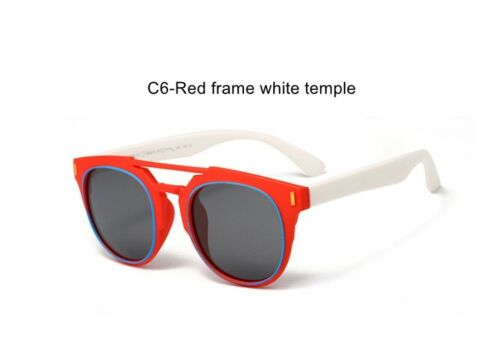 Children Kids Polarized Sunglasses Boys Girls Classic Sport Teen Cycling Glasses