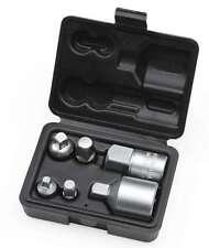 "6 pc Adaptor Set Socket Reducers 1/4"" 3/8"" 1/2"" 3/4"" M-F Drive Cr-V Satin HILKA"