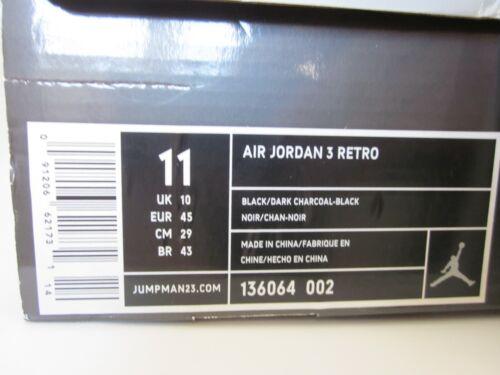 3 Air Jordan sz11us 2007 Jeter Lebron Nike black Retro Jender Cat Ds pdqwxXEZ