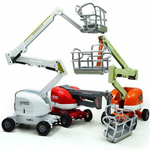 KDW-Diecast-Aerial-Platform-Truck-Construction-Vehicle-Cars-Model-Toy-O-Scale