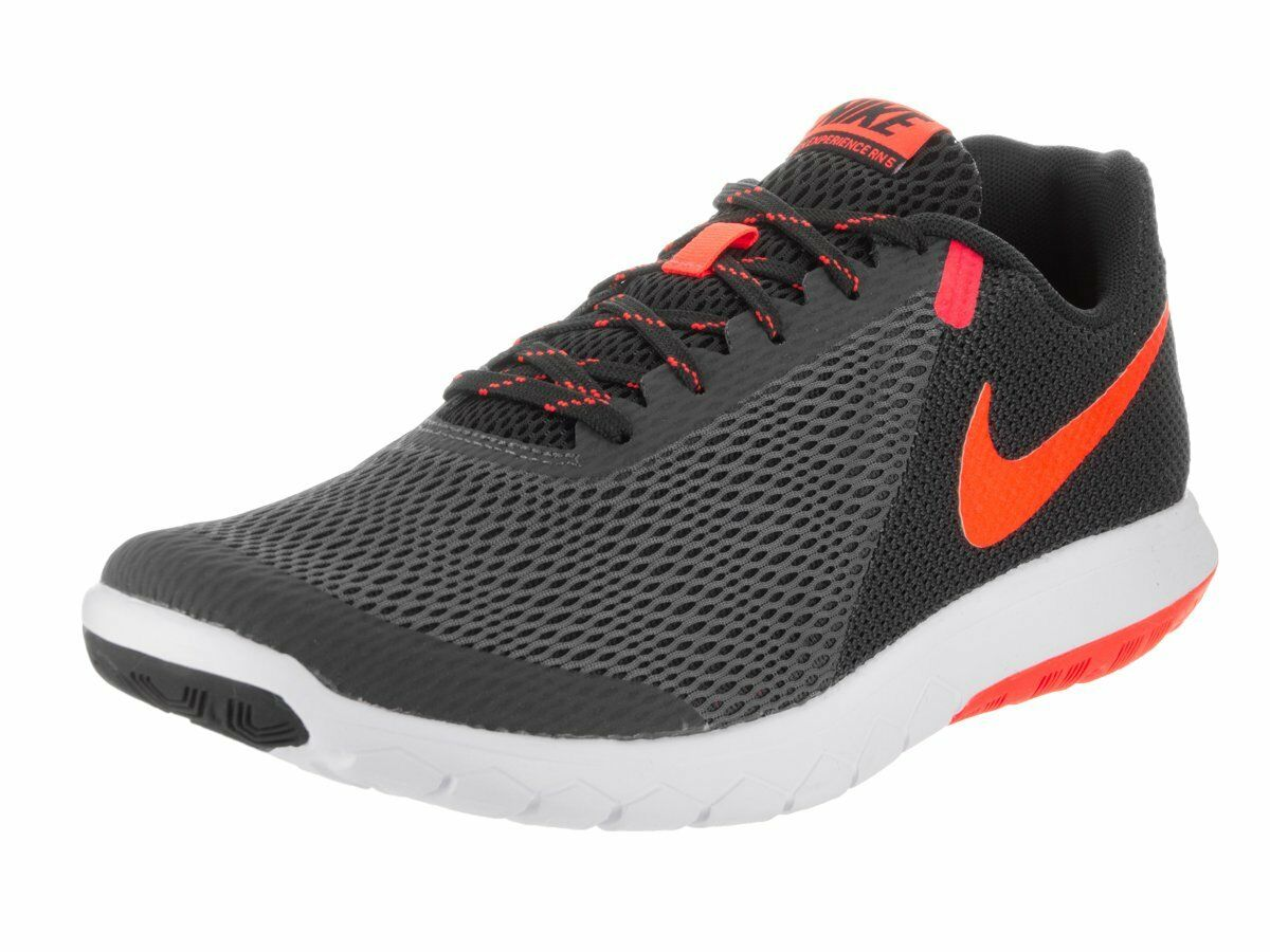 Nike Flex Experience RN 5 Running shoes Anthracite Total Crimson Black White 9