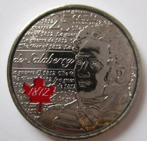 2013 Brilliantly Uncirculated  25 Cents Laura Secor Coloured And Non Coloured