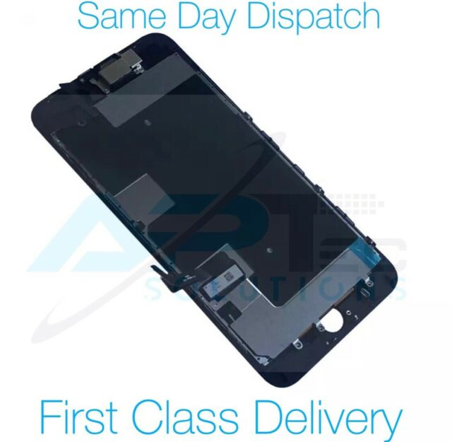 Apple iPhone 8 Screen LCD Touch Display Black Assembly With Camera and Adhesive